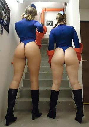 Big Ass Uniform Porn Pictures