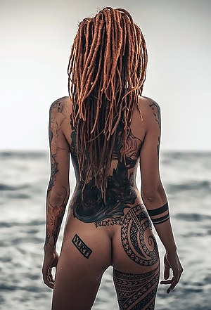Inked Big Ass Porn Pictures